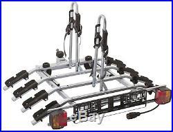 Spring SALE! Titan 4 Bike Rack / Cycle Carrier Towbar Mounted Tilting 7pin plug