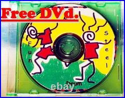 Steel Drum with Sticks & Stand, Free DVD & song booklet (Blemish & B-stock) sale