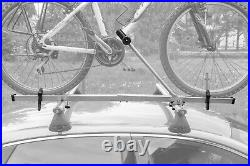 Summer Sale! 3 x Universal Silver Roof Rack Carrier for Bikes Bicycles
