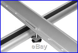 Summer Sale! 4 x Universal Silver Roof Rack Carrier for Bikes Bicycles