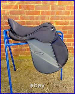 Super-comfy Deeper seat GP Saddle Synthetic CHANGEABLE GULLET SIZE 16.5 SALE