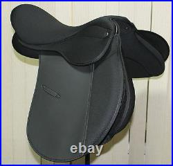 Super-comfy Deeper seat GP Saddle Synthetic CHANGEABLE GULLET SIZE 17 SALE