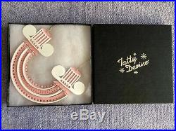 Tatty Devine Pink & White Arched Column Sample Sale Necklace Brand New