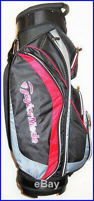 Taylormade Tm17 Corza 14 Way Cart Bag Brand New Sale
