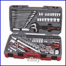 Teng 2019 Sale! 127 Pce Tool Kit Professional 1/4 3/8 1/2 Dr Spanners Ratchets