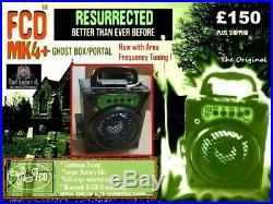 The New Fcd Mk4 Plus (+) Ghost Box Portal Spirit Box Itc Sale Price