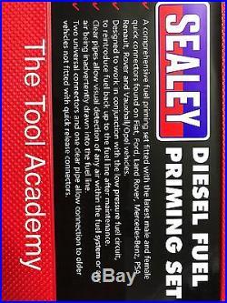 Tool Academy Sale! Diesel Engine Fuel Primer Priming & Bleeding Tool Kit in Case