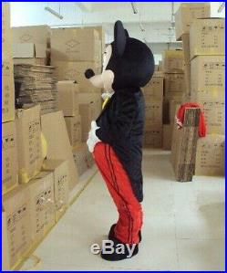 Top SaleHot Mickey Mouse Mascot Costume Adult Size Party Dress Suit Halloween