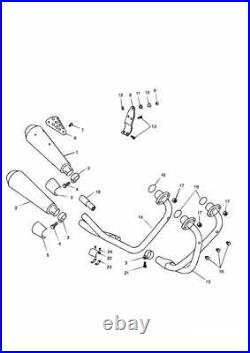 Triumph Thunderbird Sport Exhaust Header (Cyl 1/3) T2201529 BRAND NEW SALE