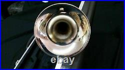 Trumpets-bankruptcy Sale-new Intermediate Silver Concert Band Trumpet-b Flat