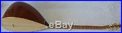 Turkish Long Neck Mahogany Baglama Saz For Sale