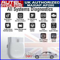 UK! SALE OBD2 Scanner Wireless FULL System Diagnostic Car Code Reader IOS Android