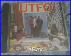 UTFO / U. T. F. O. CD 1985 Select Brand New SEALED (24 HOUR SALE!) RARE OOP HTF OG
