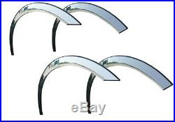 VOLVO 740/760 Wing Wheel Arch Trims Brand NEW Set 4 pcs CHROME SaLe'82-92