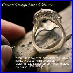 Valentine Sale 2.50Ct Round Moissanite Bridal Set Engagement Ring 14k White Gold