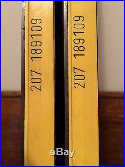 Vintage DYNAMIC VR17 Snow Skis For Sale Brand New, Never Drilled, Circa 1974