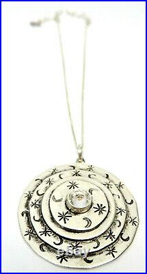 Virgin Saints and Angels Galaxy Mother Goddess Pendant Brand New Tags- on SALE