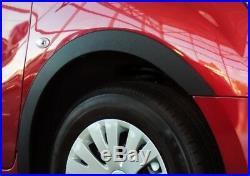 Vw Transporter T5 Wing Wheel Arch Trim Brand New Set'03-14 L&R BLACK MATT SaLe