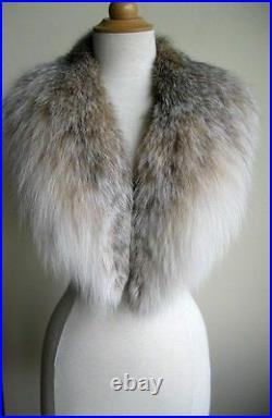 Women's Brand New Canadian Lynx Fur Collar $$ SALE Ladies