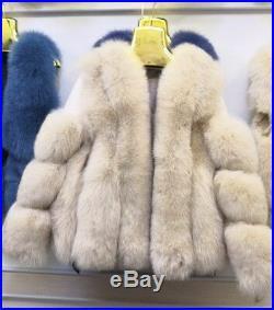 Women's Sz S Brand New Beige Fox Fur Bolero Jacket CLEARANCE SALE